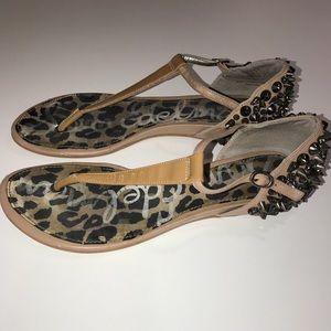 Sam Edelman Stud Thong Sandals